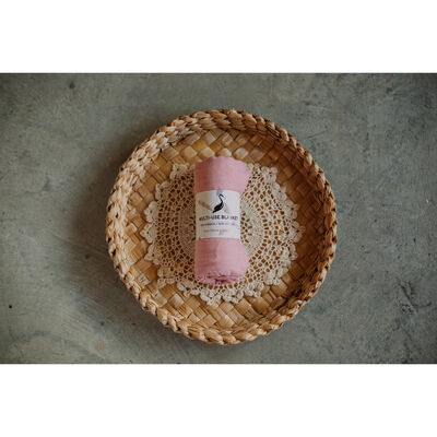Storks & Co Bamboo Blanket, Pink Colour