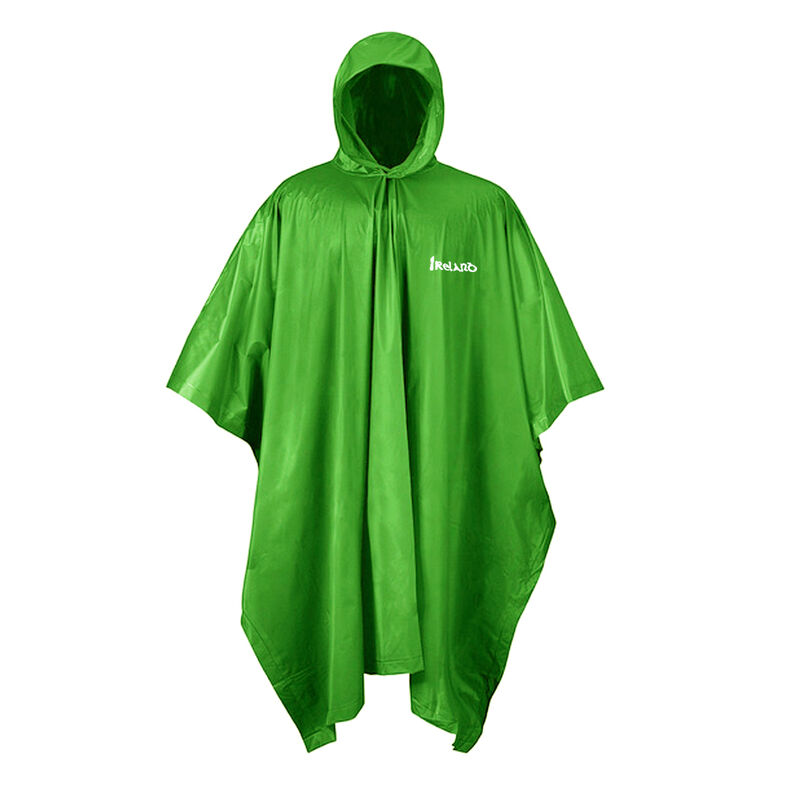 Carrolls Irish Rain Poncho  Green Colour