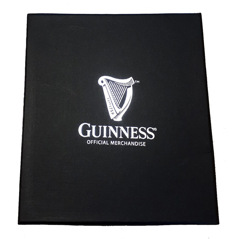 Guinness Glass Tankard With Pewter Logo