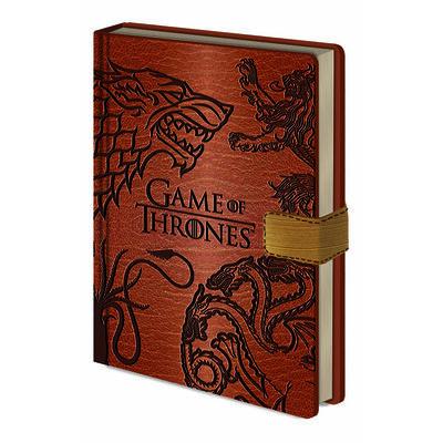 Game of Thrones Sigils A5 Premium Clasp Notebook