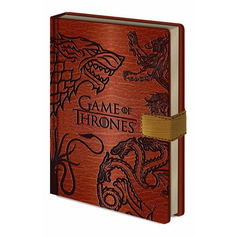 """""""Game of Thrones""""-Sigillen-Premium-Verschluss-Notizbücher  A5"""