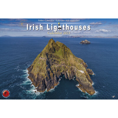 A4 Irish Lighthouse's 2021 Calendar by Liam Blake