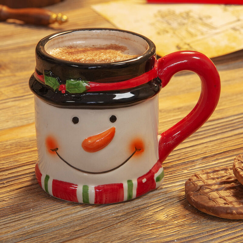 Dolomite Snowman Mug