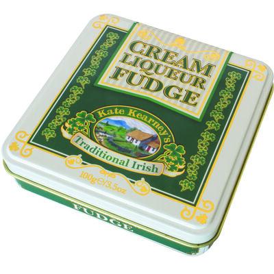 A Gift From Ireland Ireland Kate Kearney'S Irish Cream Liqueur Fudge In Tin 100G