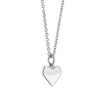 Silver Plated Amy Huberman Newbridge Silverware Heart Pendant