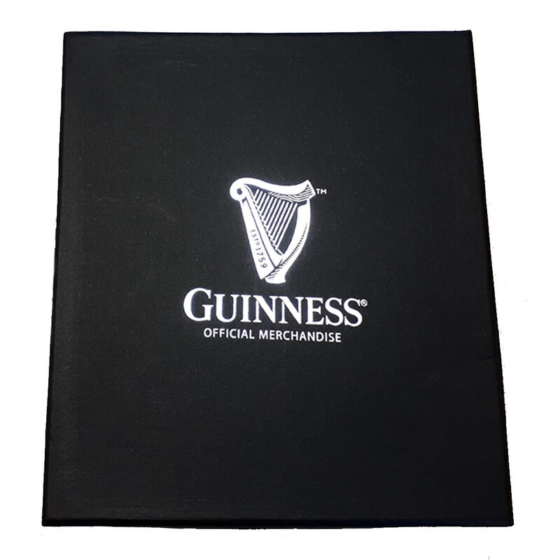 Guinness Embossed Stem Glass (Optional Gift Box)