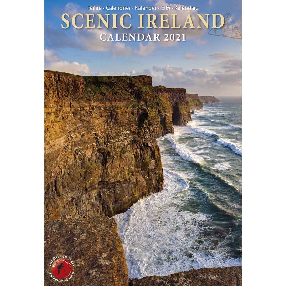 Buy Slim Scenic Image of Ireland 2021 Calendar by Liam Blake