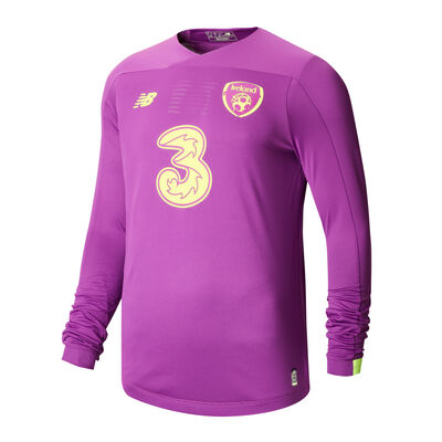 FAI Home Junior Goalkeeper Long Sleeve Jersey 2020