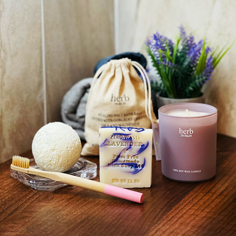 Lavender Relaxing Scented Gift Set