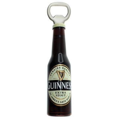 Guinness 3D Bottle Opener Souvenir Refrigerator Magnet