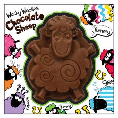 Wacky Woollies Milk Chocolate Sheep In A Box