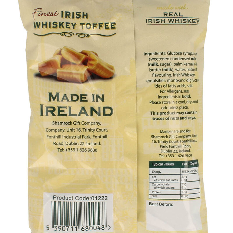 Irish Whiskey Toffee With Irish Whiskey