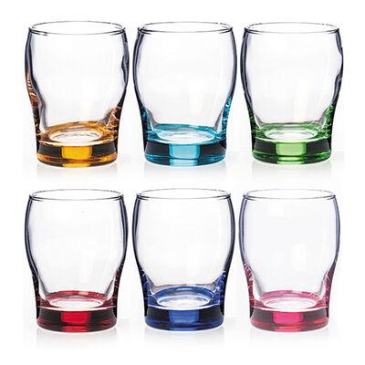 Newgrange Living Rainbow Juice Glasses, Set of 6