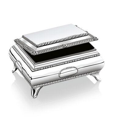 Newbridge Silverware Silver Plated Jewellery Box