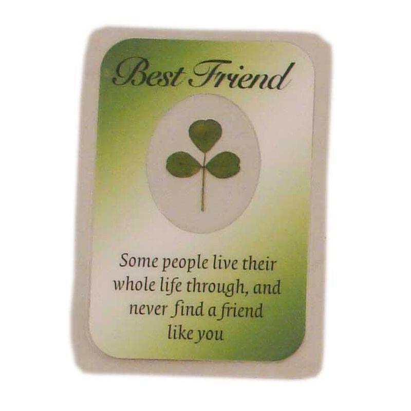 Best Friend Good Luck Emblem