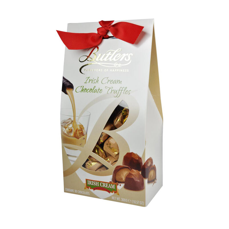 Butlers Schokotrüffel mit Irish Cream in konischer Schachtel  170 g