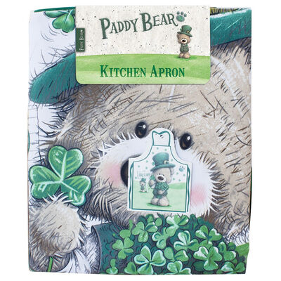 Paddy Bear Irish Designed  Apron