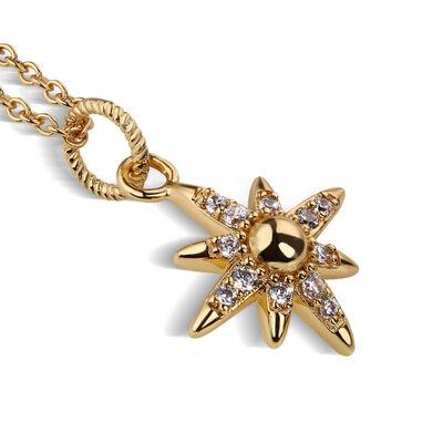 Gold Plated Amy Huberman Newbridge Silverware Star Pendant