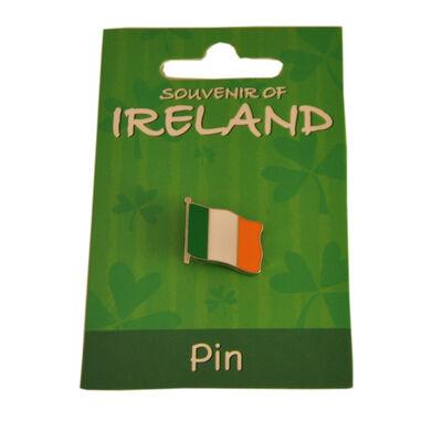 Tri Colour Metal Flag Lapel Pin 1.5Cm X 2Cm