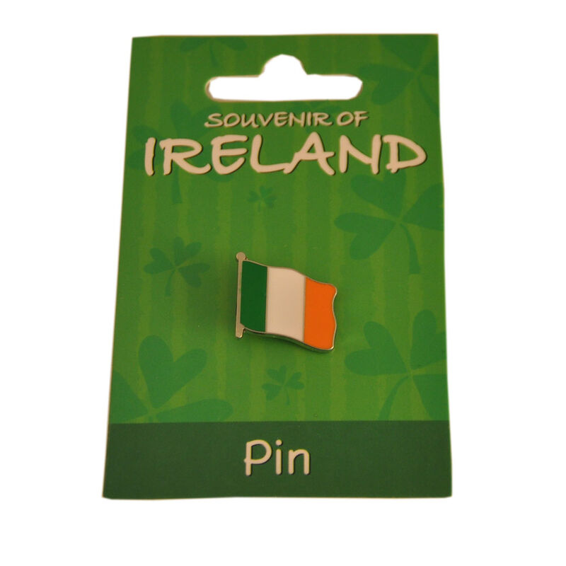 Tri Colour Metal Flag Lapel Pin 1.5Cm X 2Cm