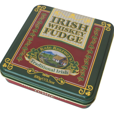 Gift From Ireland Kate Kearney Irish Whiskey Fudge In Tin  100G