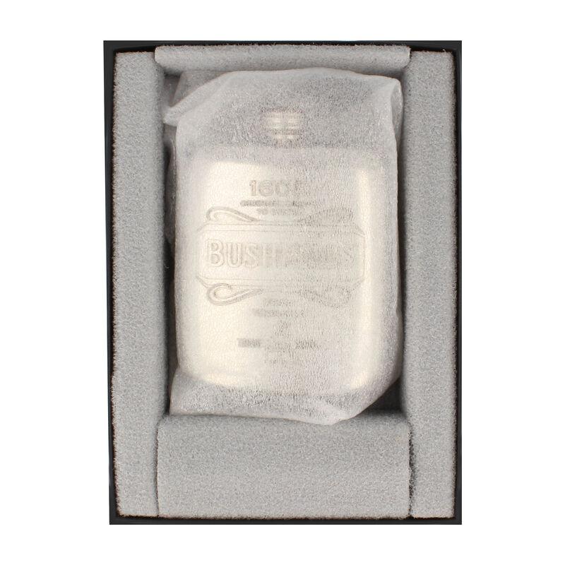 Stainless Steel Bushmills 40z Pocket Hip Flask