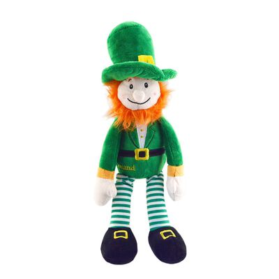 30Cm Murphy The LeprechaunSoft Toy With Green Design And Red Beard