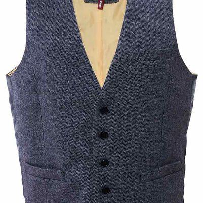 The Quiet Man Collection Grey Waistcoat Premium Quality