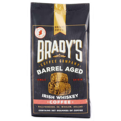 Brady's Barrel Aged Irish Whiskey Coffee  227G