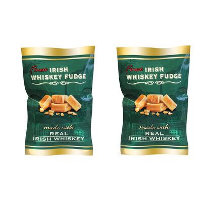 CLEARANCE - Irish Whiskey Fudge Bag With Real Irish Whiskey  (Two Pack)