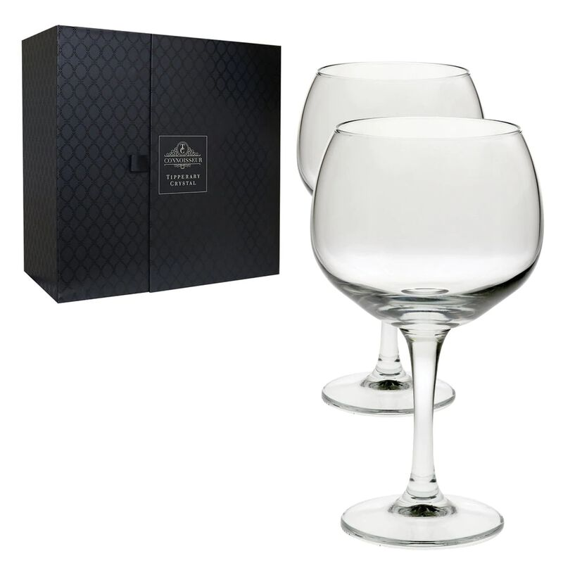Tipperary Crystal Connoisseur Gin Glasses Set 600ml