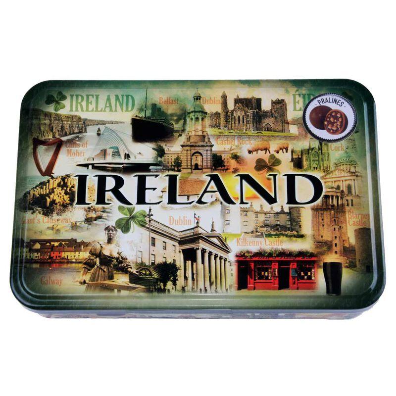 Pure Milk Chocolate Irish Pralines 165G Tinned Box