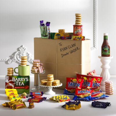 A Nostalgic Taste Of Home Authentic Irish Larder Parcel Gift Hamper