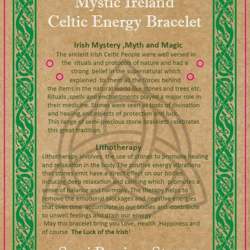 Mystic Ireland Celtic Energy Stones – Ross Quartz Bagged Stones