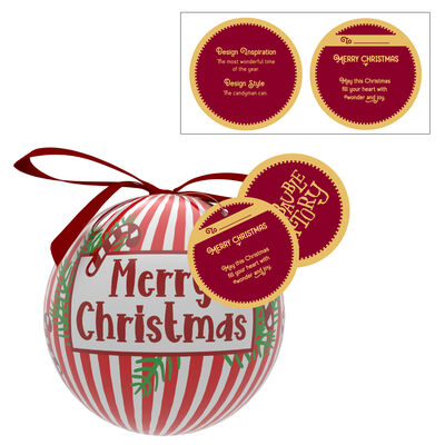 Merry Christmas Bauble With The Candyman Can Design