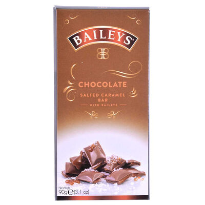 Baileys Salted Carmel Chocolate Bar  90G
