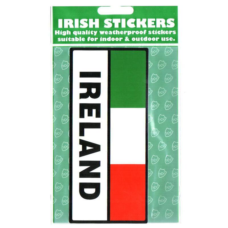 Ireland Rectangle Flag Sticker