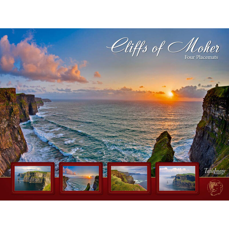 Cliffs Of Moher Designed Placemats - Set of Four