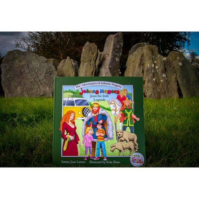 Johnny Magory Joins The Irish Legends - Illustrated by Kim Shaw