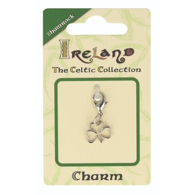 Celtic Collection Small Metal Shamrock Charm