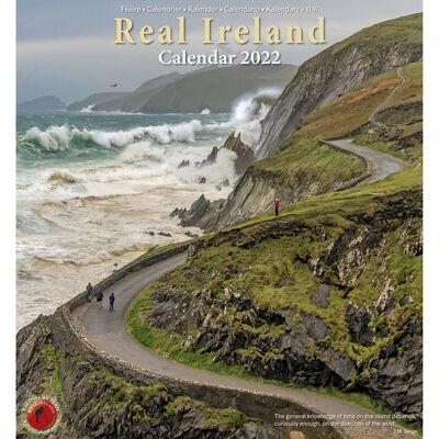 Large Real Ireland 2022 Calendar by Liam Blake