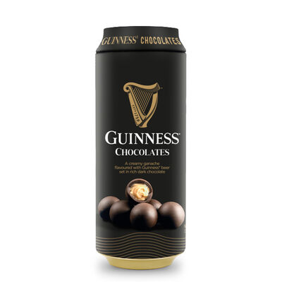 Guinness Rich Dark Creamy Chocolates In A  Can, 125g