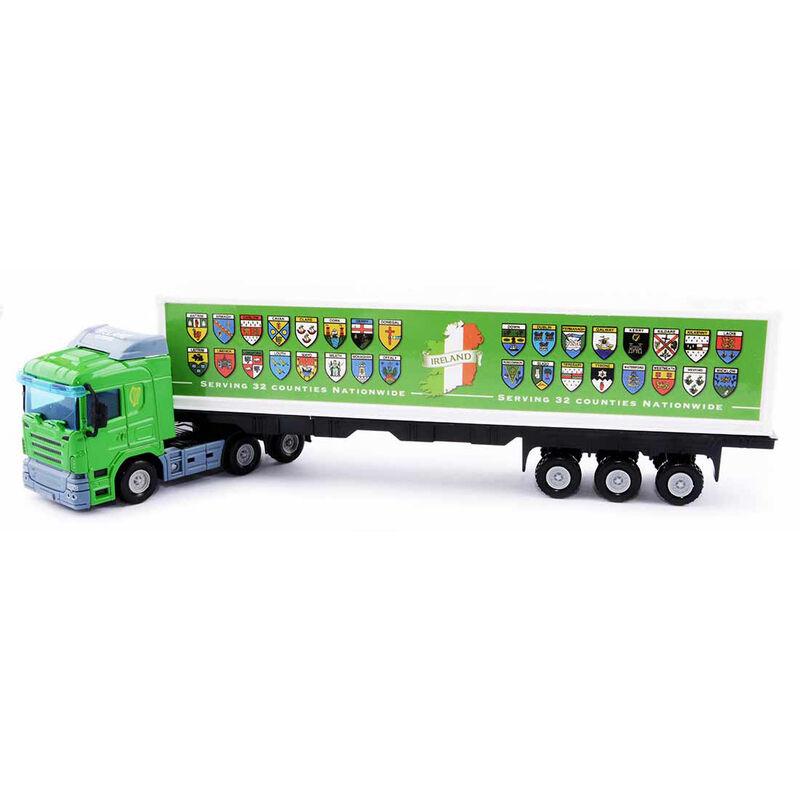 Irish Die Cast Model Truck With 32 County Crest Design
