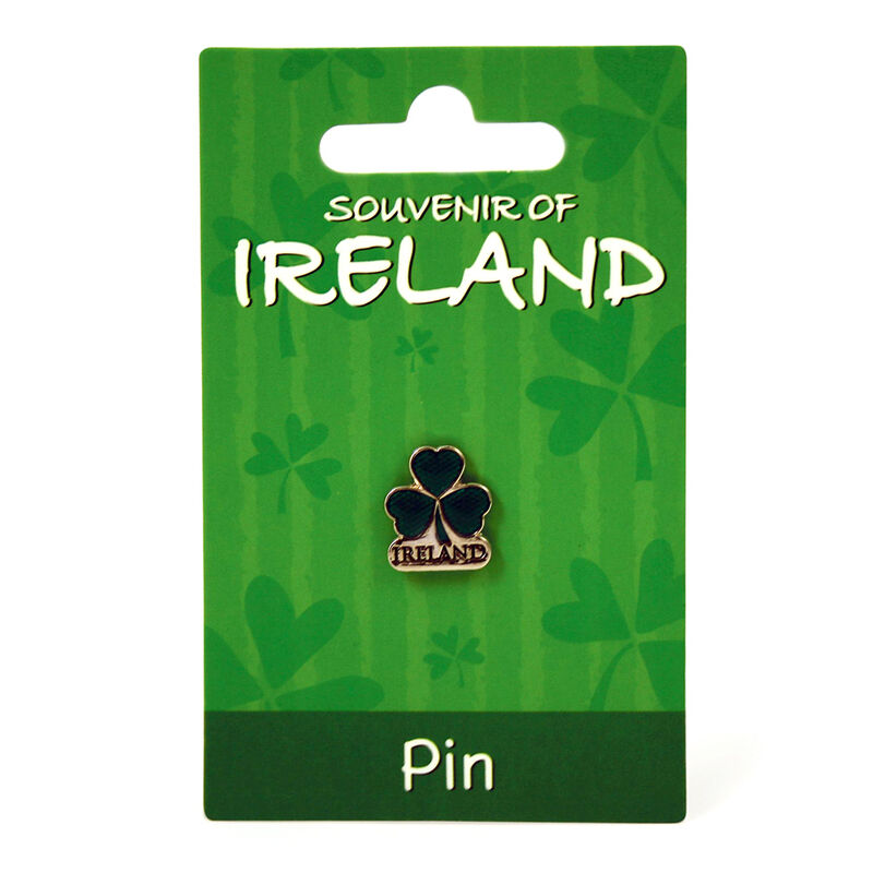 Shamrock Ireland Lapel Pin