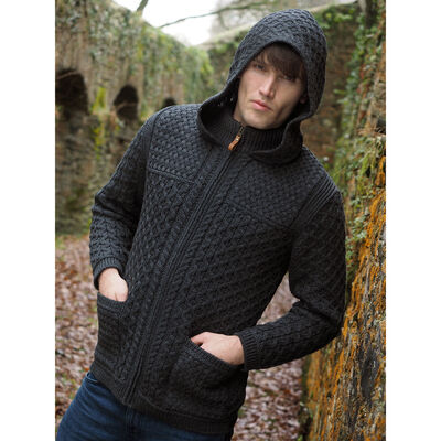 Men's Hooded Jacket Charcoal