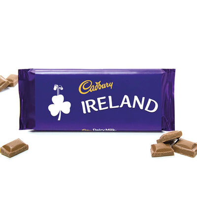 """Ireland"" Cadbury Dairy Milk Chocolate Bar, 110G"