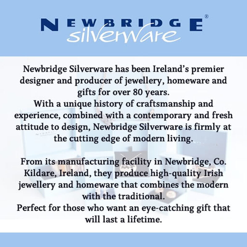 Newbridge Silverware Small Flower Clear Stone Earrings