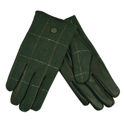 The Quiet Man Collection Boxed Traditional Irish Gloves  Green Colour