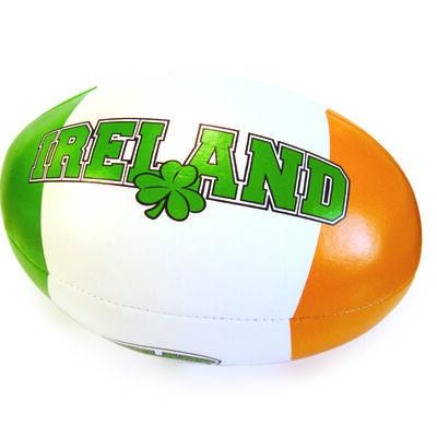 Weicher  dreifarbiger Rugby-Ball