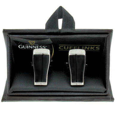 Guinness 3D Cufflinks  Pint Design